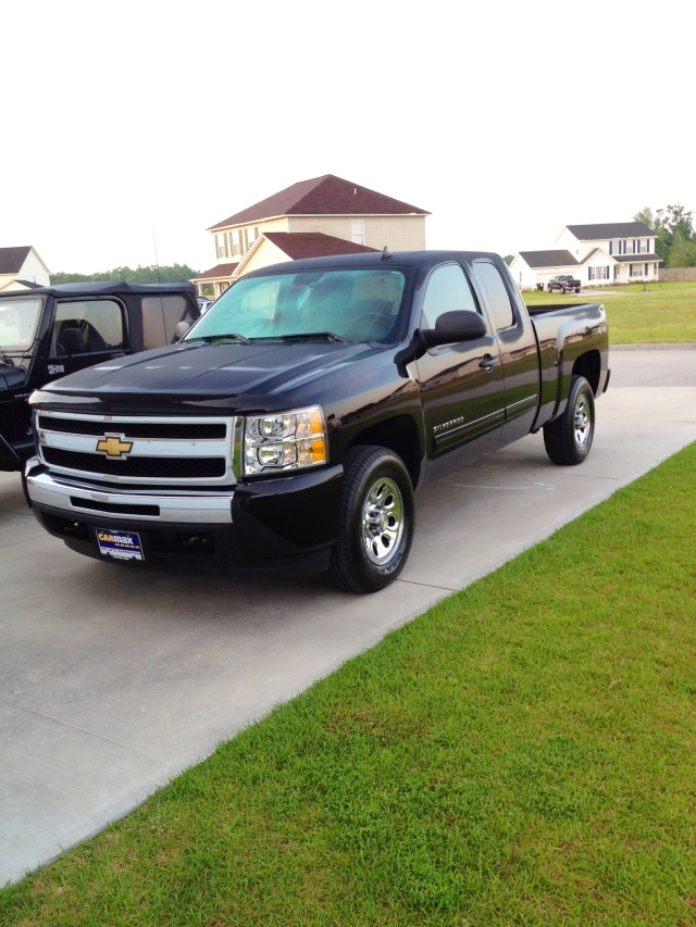 My new Chevy Silverado!